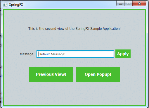 Integrating JavaFX and Spring for Dependency Injection and