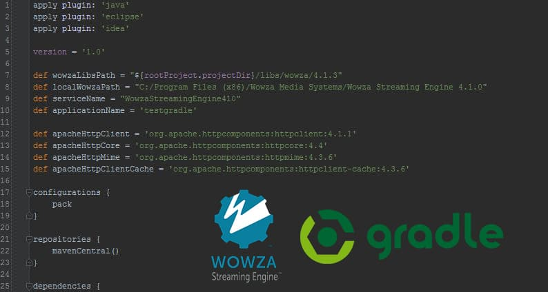 Building Wowza with Gradle